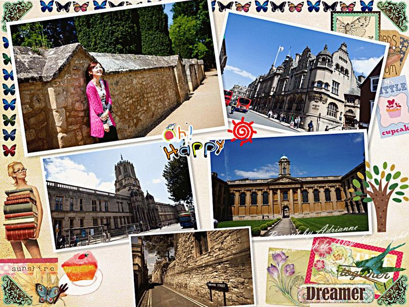【再訪英國 ♥ 倫敦】Day2-1 Oxford 牛津大學城(上)─ 卡爾法克斯鐘塔、牛津博物館、湯姆塔、瑞德克利夫拱頂建築、皇后學院、嘆息橋