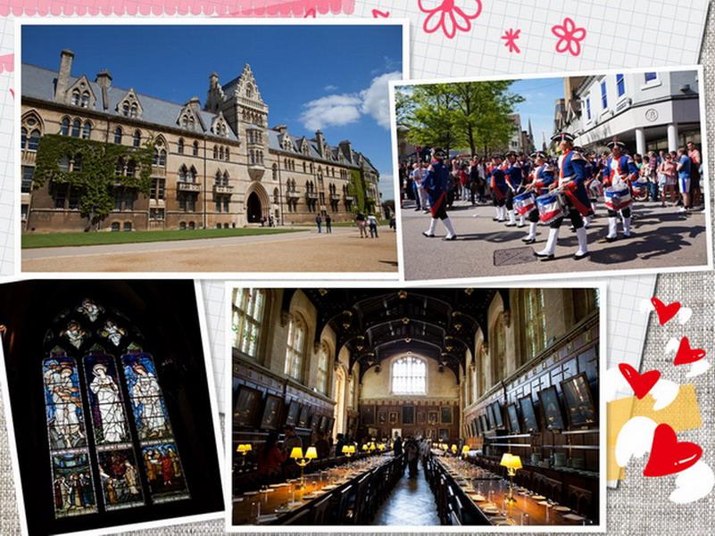 【再訪英國 ♥ 倫敦】Day2-2 Oxford 牛津大學城(下)─ 基督教堂學院尋找哈利波特霍格華茲神奇魔法食堂