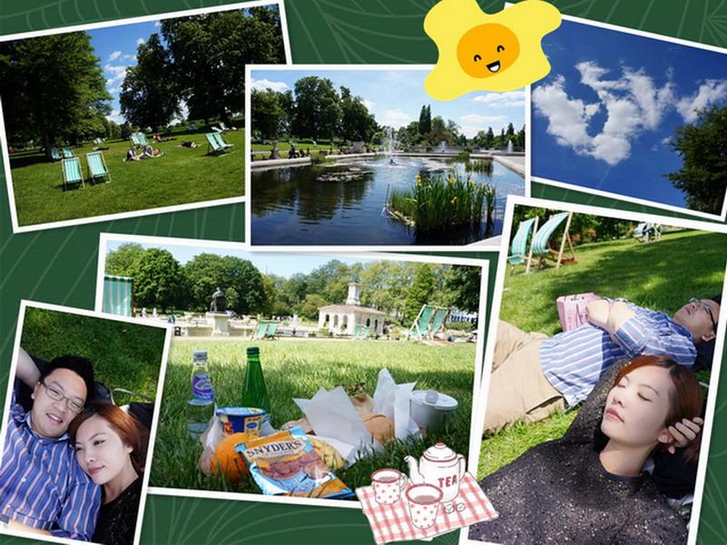 【再訪英國 ♥ 倫敦】Day4 在歐洲就是要做日光浴 ─ 海德公園 Hyde Park
