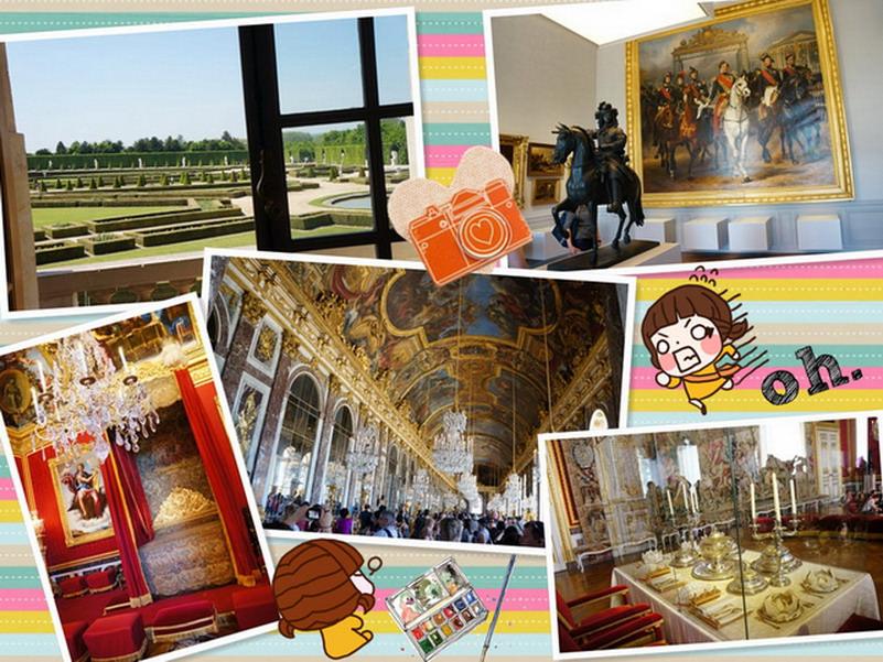 【再訪法國 ♥ 巴黎】Day5 金碧輝煌的凡爾賽宮Château de Versailles → 13區Tolbiac站的越式河粉