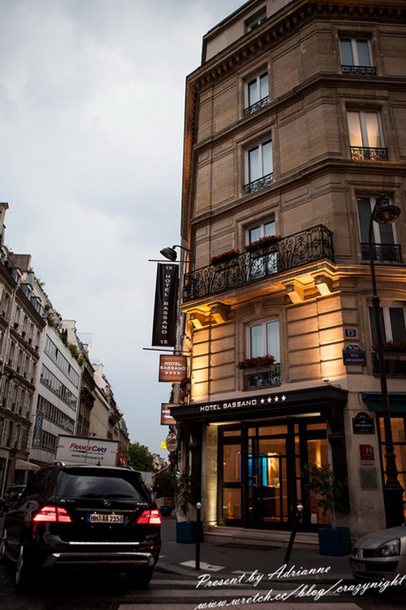 【巴黎住宿】Day6-1 巴黎第八區精品旅館 Hotel Bassano**** 四星 (步行香榭麗舍大道只要5分鐘&免費wifi)