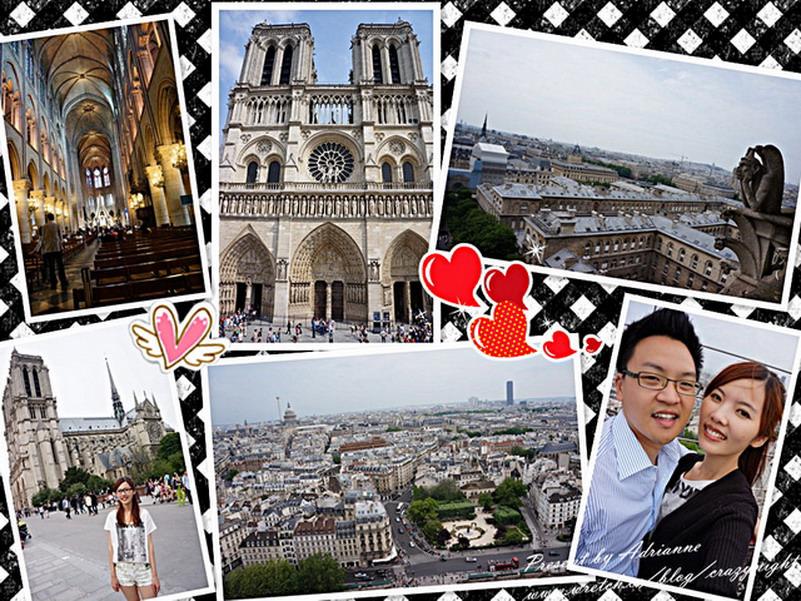 【再訪法國 ♥ 巴黎】 Day6-2 一起去巴黎聖母院(Cathédrale Notre-Dame de Paris)尋找鐘樓怪人