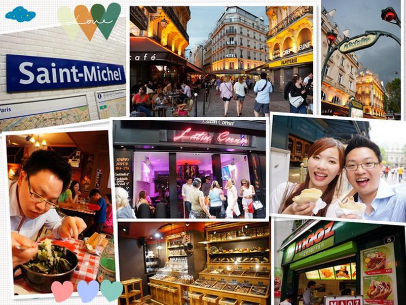 【再訪法國 ♥ 巴黎】 Day6-3 西堤島 左岸拉丁區Rue Saint-Séverin&好吃的法式可麗餅 Crêpes &平價連鎖甜點店Maison GEORGES LARNICOL