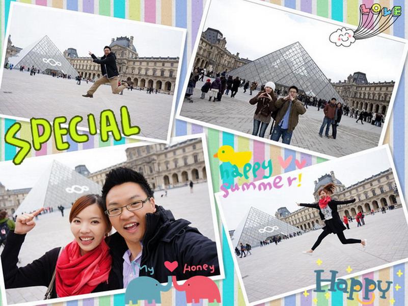 【再訪法國 ♥ 巴黎】 Day7-1 再訪世界三大博物館之一的羅浮宮(Musée du Louvre)&巧遇巧克力界的愛馬仕La Maison du Chocolat
