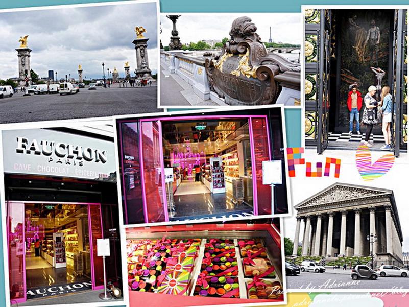 【再訪法國 ♥ 巴黎】Day9 香榭麗舍大道A&F→ 亞歷山大三世橋(Pont Alexandre III)→ 瑪德蓮教堂(L'église Sainte-Marie-Madeleine)→ 百年食品商店FAUCHON