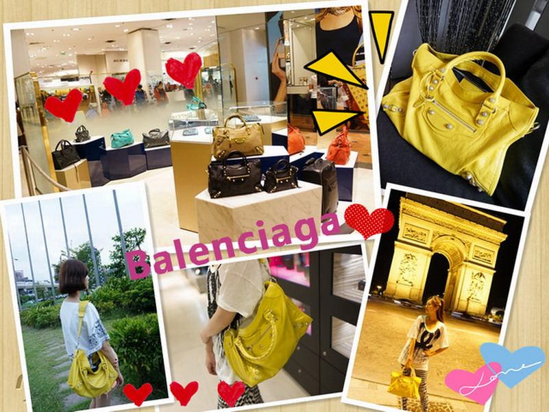 【法國巴黎必買】巴黎世家 Balenciaga Giant 12 Silver City 檸檬黃 開箱囉!