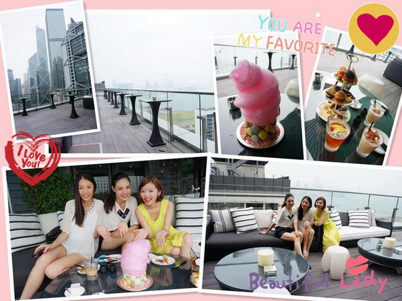 【香港 ♥ 中環】Day3-2 在SEVVA下午茶與瑪麗皇后蛋糕相見歡 → 台北
