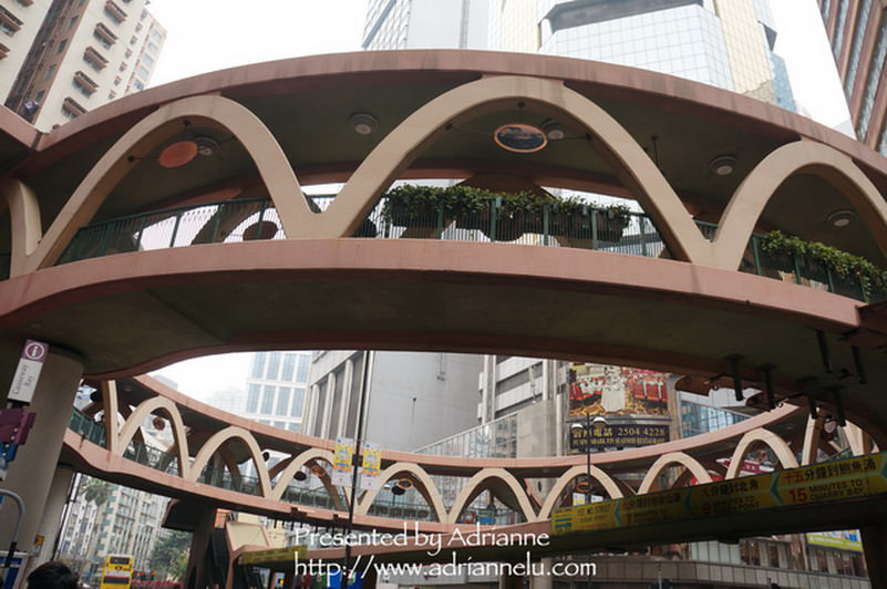 【六訪香港 ♥ 銅鑼灣】Day3-2 好多設計師小店的金百利商場&銅鑼灣地標圓形天橋 (怡和街天橋)