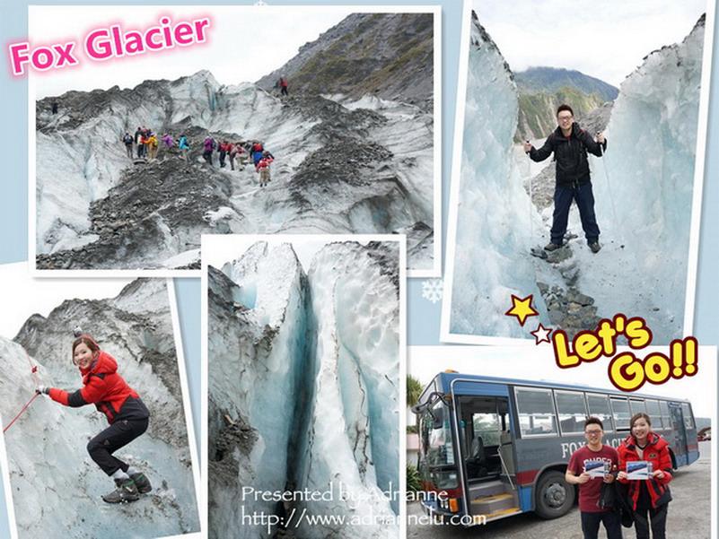 【紐西蘭南北島12天】Day4-1 福斯冰河FOX GLACIER 冰上健走初體驗