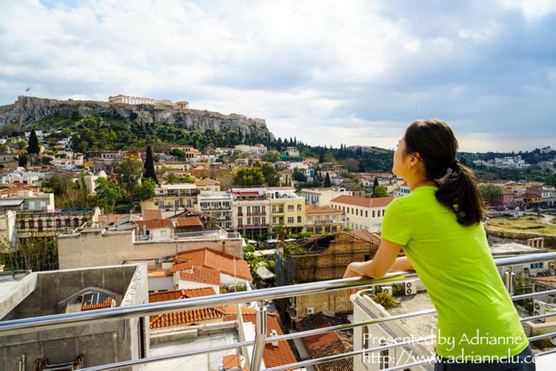 【環遊歐洲68天】Day5-1 阿布達比→ 雅典機場到市區→ 入住普拉卡酒店Plaka Hotel