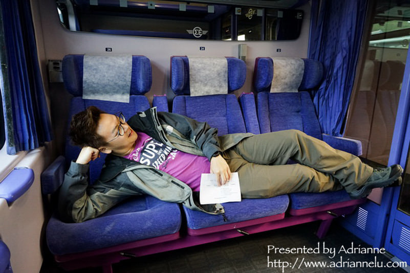 【環遊歐洲68天】Day6-1 雅典到卡蘭巴卡(梅提歐拉Meteora),希臘國鐵OSE訂票一次就上手&實際搭乘資訊!