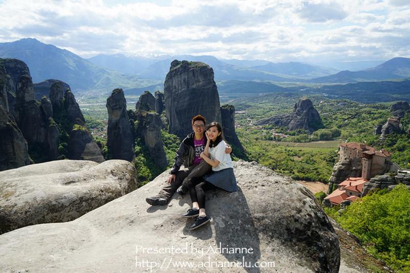 【環遊歐洲68天】Day6-2 梅提歐拉Meteora。超震撼的天空之城,一生必去的景點!