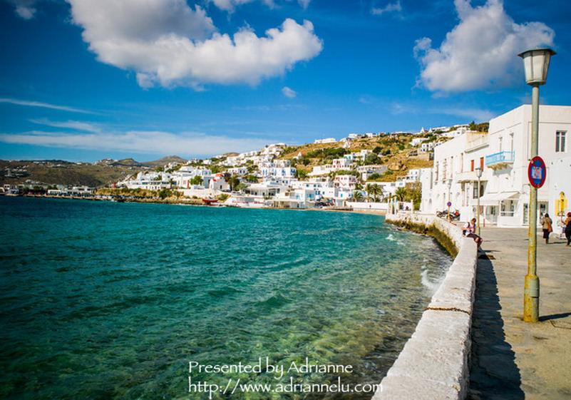 【環遊歐洲68天】Day10-2 米克諾斯 Mykonos。漫步在浪漫的白色小徑(美味及美景兼具的alego餐廳、必吃的DAVINCI冰淇淋、聖尼可拉斯教堂、帕拉波爾提亞尼教堂)