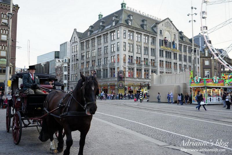 【環遊歐洲68天】Day14-2 阿姆斯特丹Amsterdam。水壩廣場、皇宮、陣亡者紀念塔