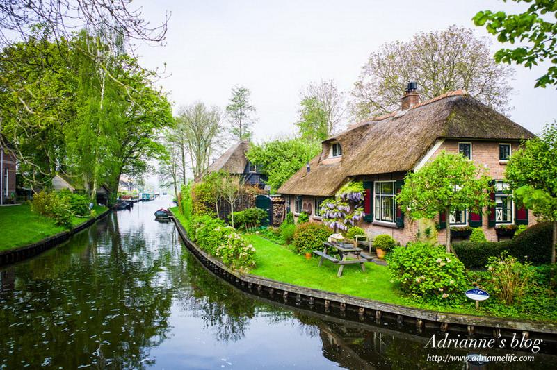 【環遊歐洲68天】Day16-1 荷蘭羊角村Giethoorn 如詩如畫的綠色威尼斯 (內有詳細交通資訊)
