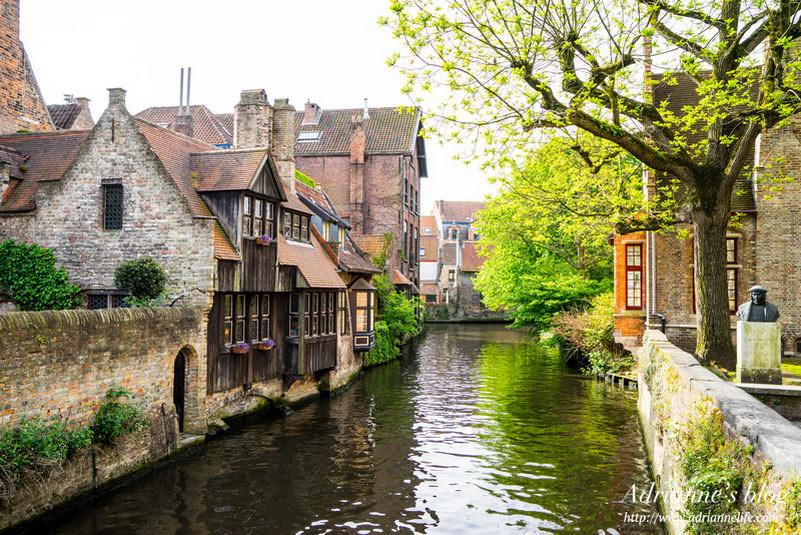 【環遊歐洲68天】Day19-1 漫步在布魯日的秘境裡 & De Vier Winden Brugge必吃比利時淡菜鍋