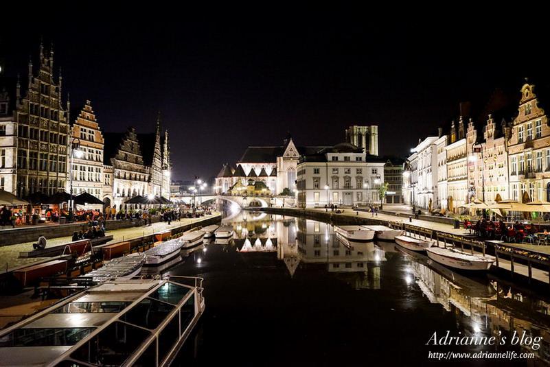 【環遊歐洲68天】Day20-1 比利時根特Gent。越夜越迷人浪漫城市