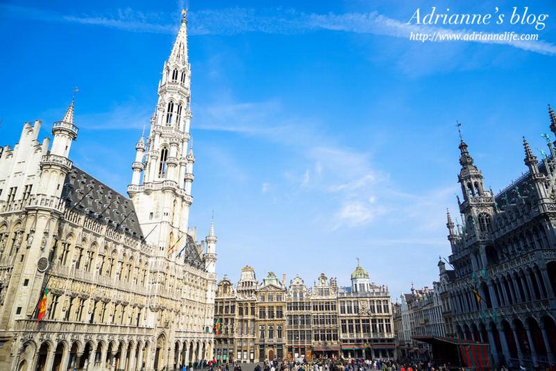【環遊歐洲68天】Day21-1 布魯塞爾 Brussel 。布魯塞爾大廣場(Grand Place)、尿尿小童(Manneken Pis)、布魯塞爾王宮、布魯塞爾公園!