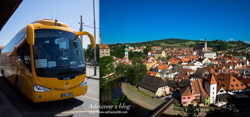 【環遊歐洲68天】Day60-1 布拉格Praha→ 庫倫洛夫Český Krumlov 巴士購票教學及搭乘分享