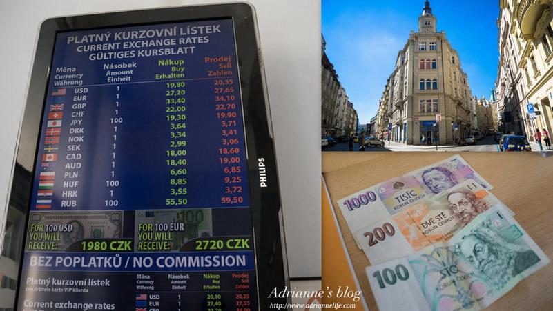 【環遊歐洲68天】Day59-1 布拉格最多人推薦的換匯所,地圖、換匯資訊、注意事項大解析!