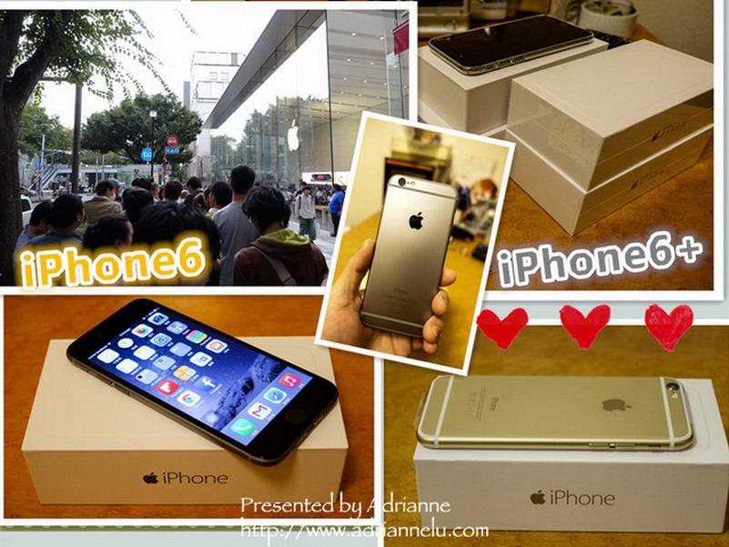 【東京生活】Day55-1 iPhone6&iPhone6 Plus 9/19 日本首賣!表參道排隊10小時全紀錄 & 網路預約當天取貨免排隊 & 開箱不藏私大分享!