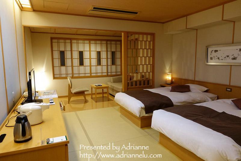 【北海道】層雲峽大雪溫泉飯店(ホテル大雪)房間、環境、泡湯