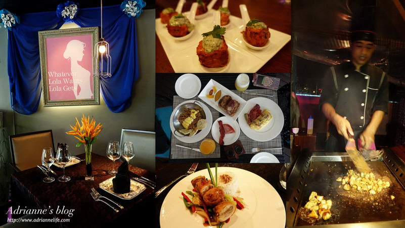 【Bali峇里島.巴里島】水明漾區 L Hotel Seminyak 飯店內餐廳 Lola & Kitano北野日式鐵板燒