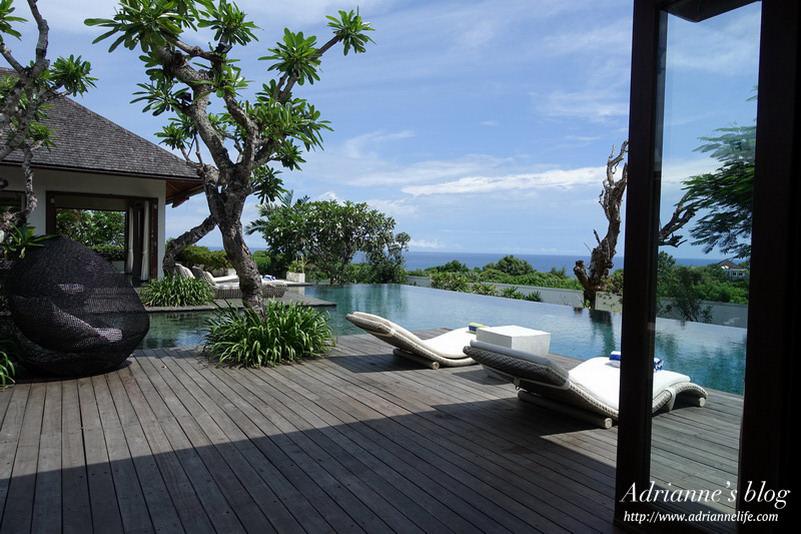 【Bali峇里島.巴里島】夢想中的豪華海景Villa-The Shanti Residence Nusa Dua 房型 & 環境介紹