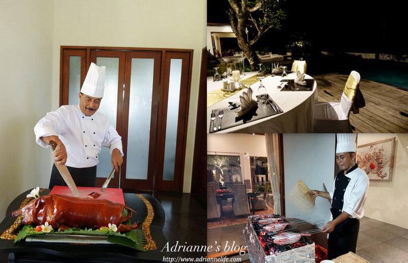 【Bali峇里島.巴里島】The Shanti Residence Nusa Dua 主廚現做烤乳豬餐 & 泳池畔BBQ燒烤