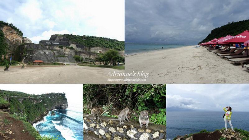 【Bali峇里島.巴里島】巴里島熱門景點。Pandawa Beach & Pura Luhur Uluwatu烏魯瓦圖斷崖廟