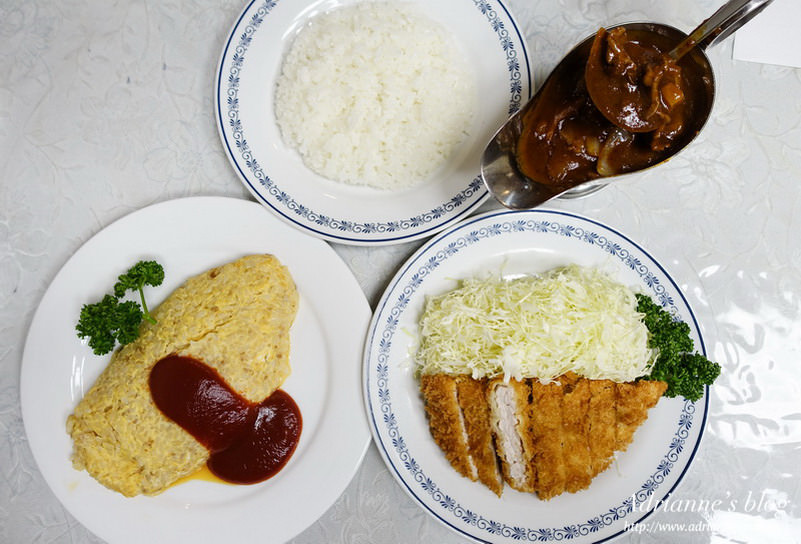【東京美食】銀座站-日本第一家洋食館煉瓦亭,炸豬排、蛋包飯的誕生地!