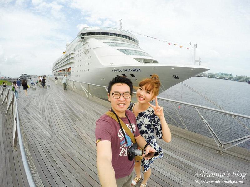 【歌詩達郵輪】Costa Victoria橫濱 – 仁川之旅。登船、啟航、環境、船長歡迎雞尾酒會~郵輪初體驗!
