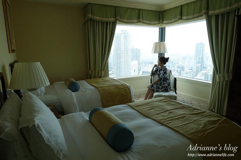 【2015日本大阪自由行】麗思卡爾頓飯店(The Ritz-Carlton)市景行政套房房型介紹&詳細路線圖!