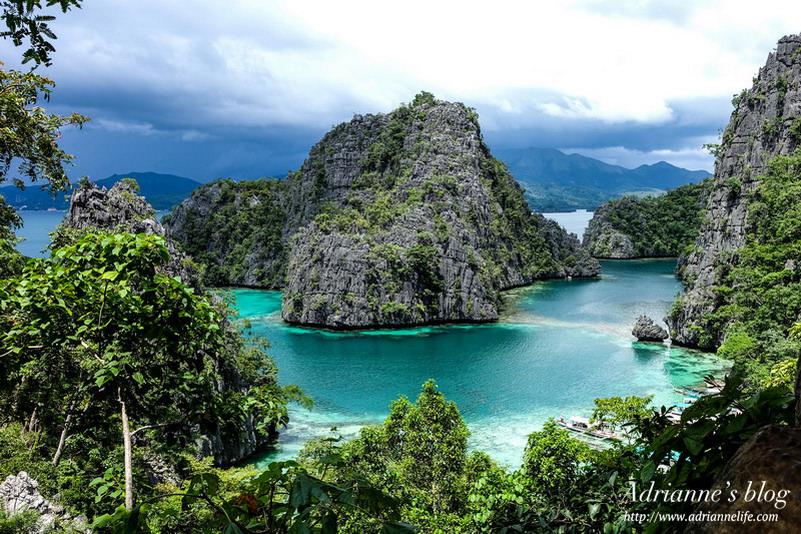 【菲律賓科隆島】跳島出海浮潛啦!凱央根胡(鏡湖)→ 雙峰礁岩→ 燕子水上平台→ 七子礁岩