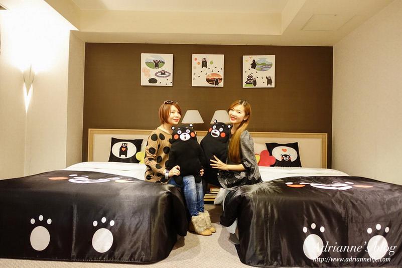 【日本九州】尖叫吧!萌翻天的熊本熊主題套房&單人房@熊本新大谷飯店Hotel New Otani Kumamoto