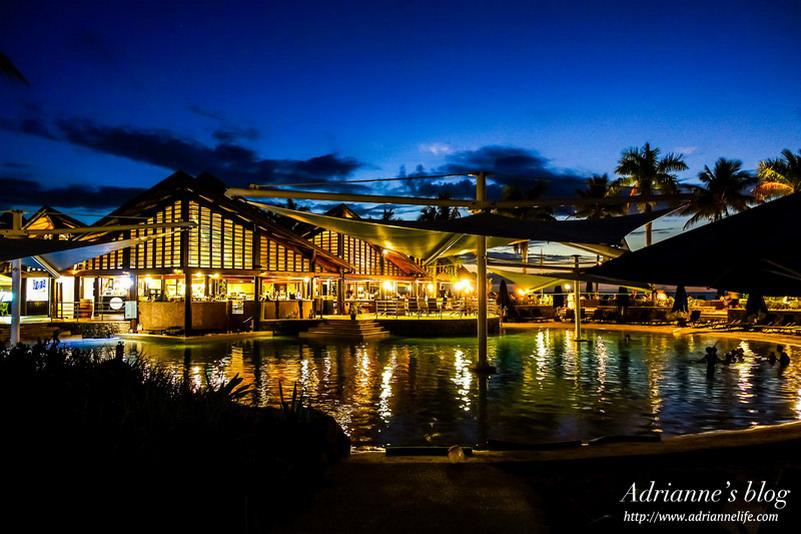 【斐濟自由行】斐濟住宿推薦!斐濟丹娜拉島拉迪森布魯酒店 (Radisson Blu Resort Fiji Denarau Island),C/P值高的度假飯店! (環境設施及餐廳篇)