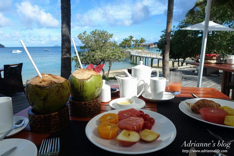 【斐濟自由行】斐濟第一間水上屋度假村Likuliku Lagoon Resort (全包式餐點介紹)