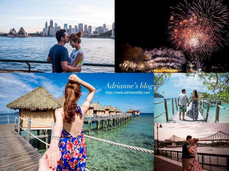 【FB旅行日記】斐濟&澳洲布里斯本、凱恩斯、雪梨跨年27天26夜自由行行程總覽&相關直播懶人包!