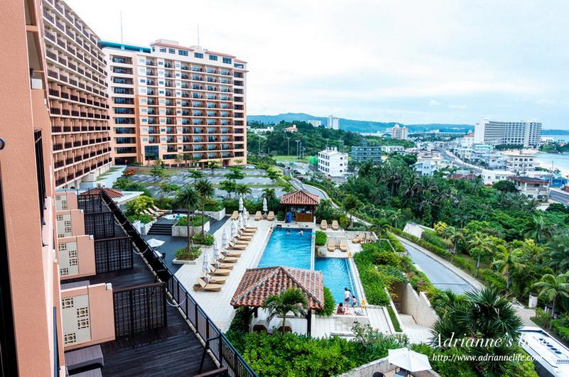 【沖繩住宿推薦】富著卡福度假公寓大酒店 Kafuu Resort Fuchaku Condo Hotel,房內就可以看到無敵海景!