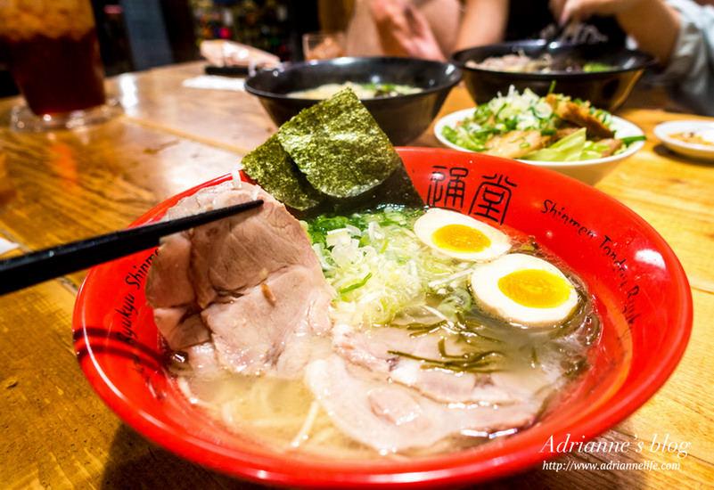 【沖繩必吃美食】沖繩本地的通堂拉麵,你喜歡男人麵還是女人麵?