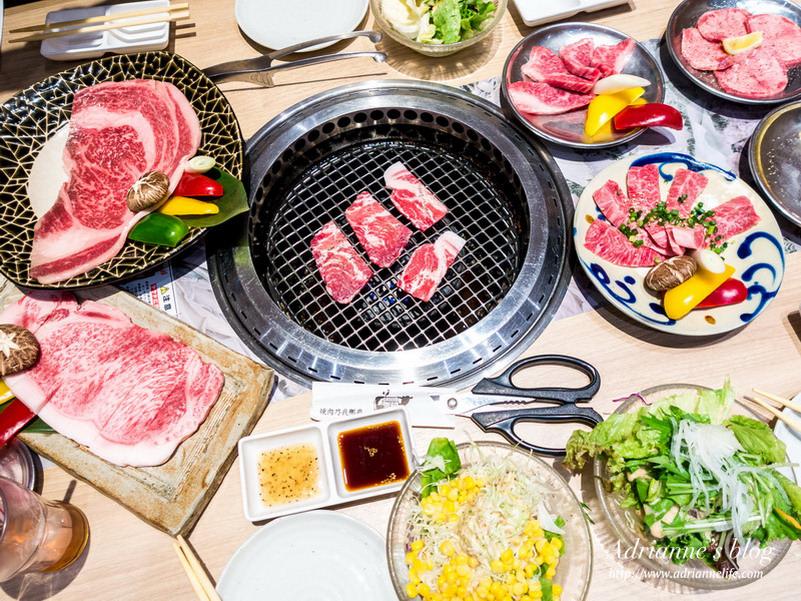 【沖繩必吃美食】焼肉乃我那覇(新館)必吃單點A4等級石垣和牛跟高級Agu豚肉燒烤