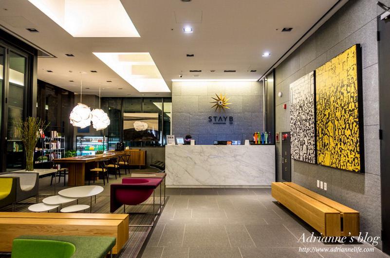 【首爾住宿推薦】(203/330)乙支路3街-明洞Stay B飯店(Stay B Hotel Myeongdong),離2.3.4號線步行5分鐘/設計新穎/房價低/機場巴士直達/內有地圖