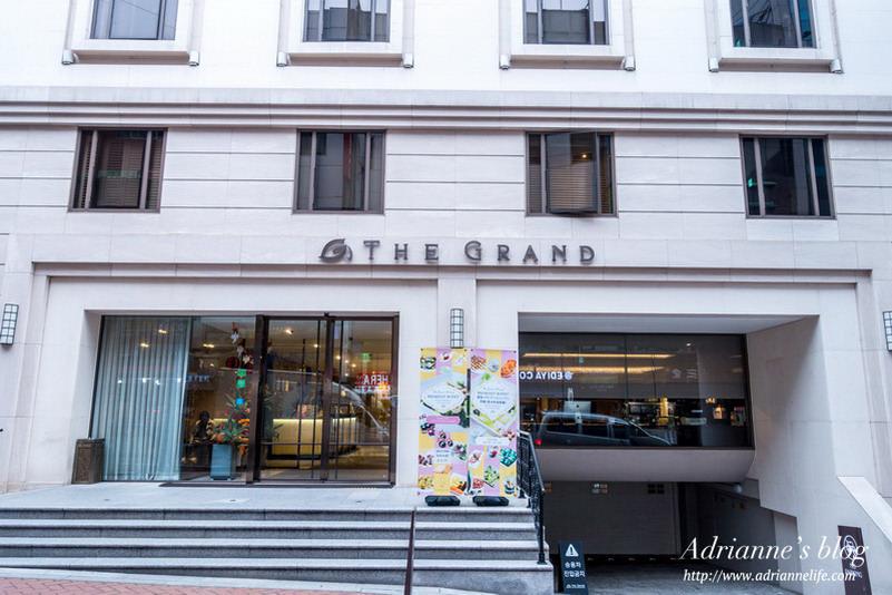 【首爾住宿推薦】(424)明洞站-明洞大飯店(The Grand Hotel Myeongdong) 明洞商圈內/每週五有Happy Hour/地理位置極佳/離地鐵步行兩分鐘/機場巴士直達/內有地圖