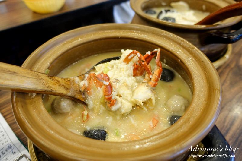 【中式】新北板橋美食。六必居潮州沙鍋粥,招牌鮑魚粥&蟹膏粥好吃到讓人不斷再訪!