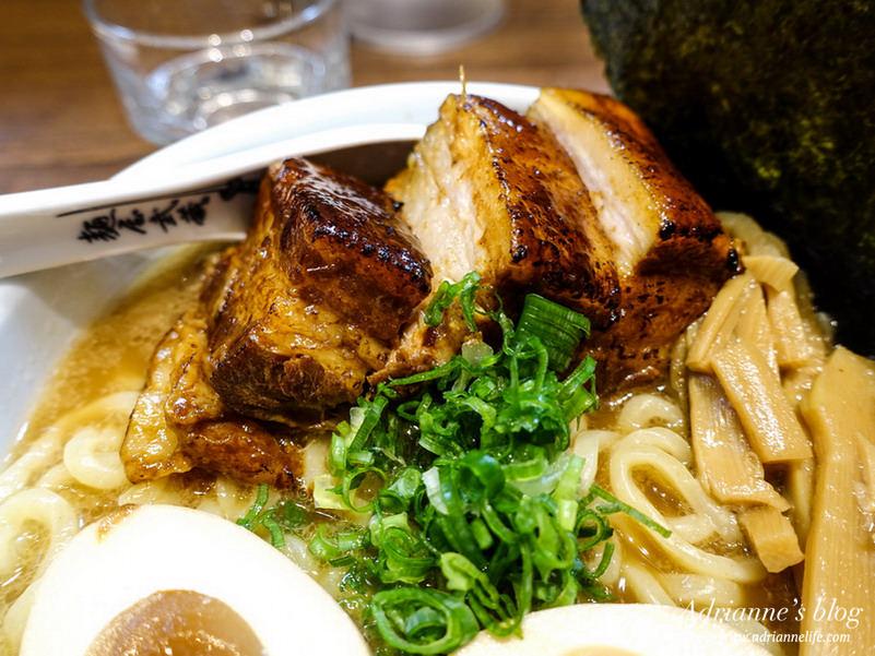 【日式】台北微風松高美食。麵屋武藏虎洞 濃郁湯頭X厚切叉燒,來自日本的好味道!
