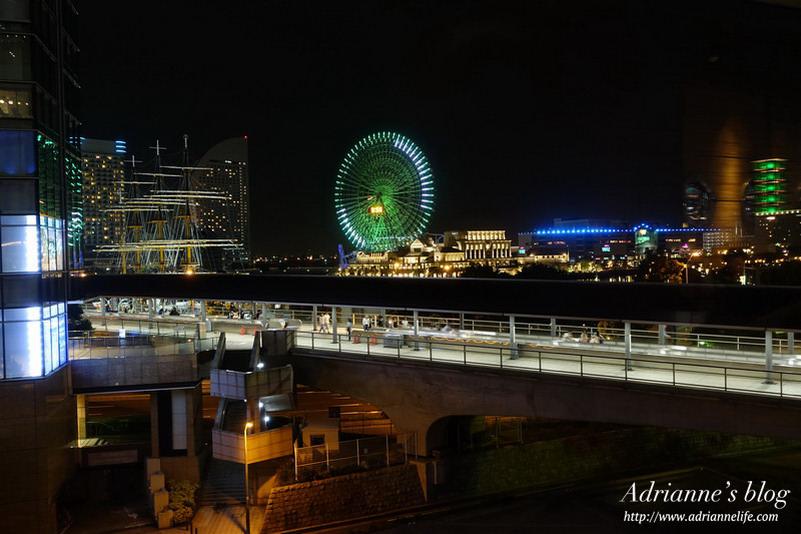 【橫濱自由行】橫濱住宿推薦!橫濱新大谷Inn (New Otani Inn Yokohama Hotel),夜景超美、離櫻木町只要一分鐘、週邊機能好!
