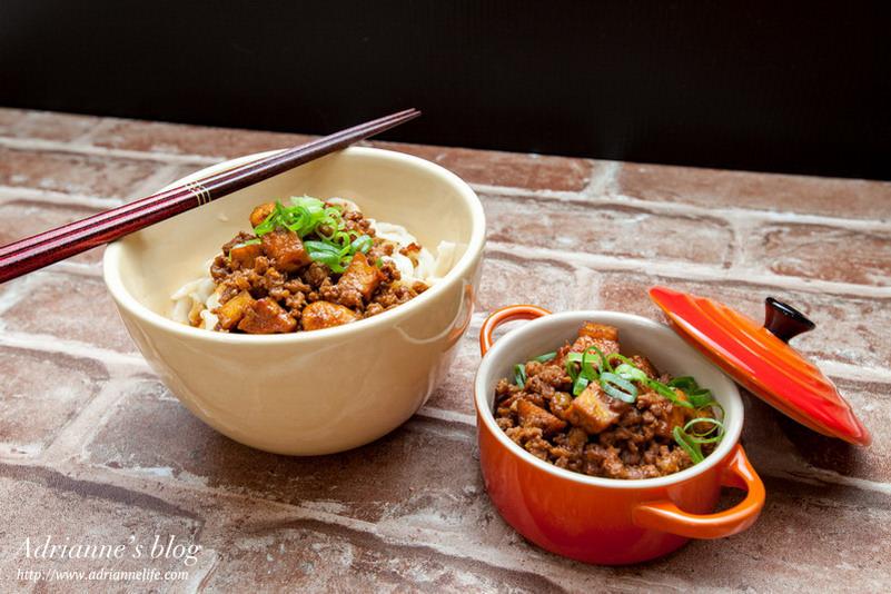 【一次上手食譜】簡單好上手的台式炸醬,拌麵拌飯都好吃!