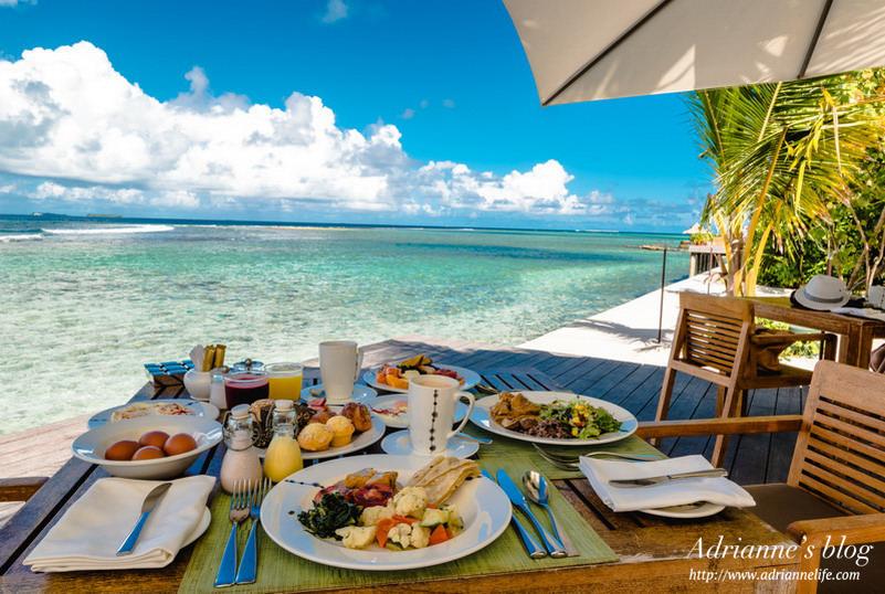 【馬爾地夫自助】薇莉島安納塔拉水療度假村 (Anantara Veli Maldives Resort) 島上餐廳介紹(早餐/Buffet/鐵板燒/泰式餐廳/輕食)