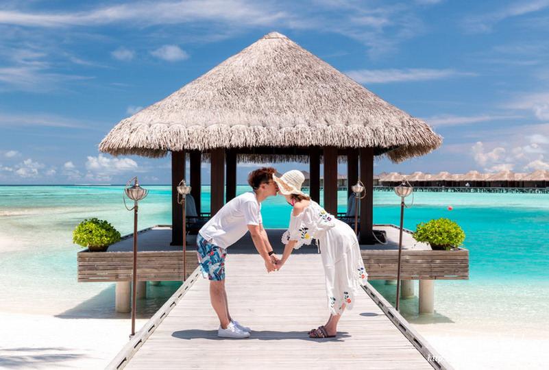 【馬爾地夫自助】薇莉島安納塔拉水療度假村 (Anantara Veli Maldives Resort) 腳架自拍閃光照留下最美好的回憶!