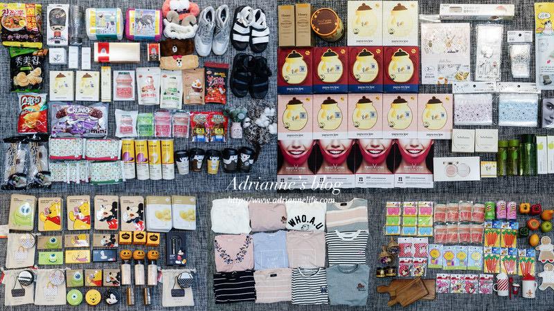 【2018韓國首爾必買】絕對不能錯過的首爾戰利品攻略!面膜.保養品.彩妝.零食.生活小物一次大公開!